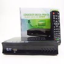 Conversor Digital Slim Tv Smart Gravador Hd Antena Hdmi Rca