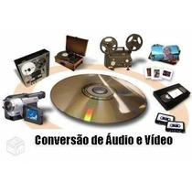 Converto Vhs/svhs/hi8 E Outras Fitas Para Dvd Ou Hd