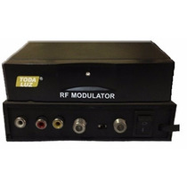 Modulador Rf - Câmeras/vídeo Game/dvd No Canal 3 Ou 4 Da Tv!