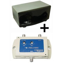 Modulador Proeletronic Pqmo-2200 + Combinador Sinal Pqcb2003