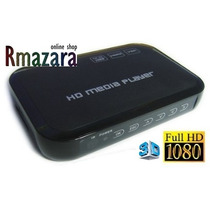 Media Player Full Hd 1080p 3d Usb 2tb - Sd - Pendrive