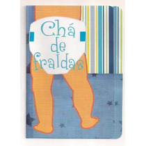 50 Convites De Chá De Fraldas (bebê)