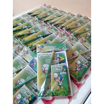 40 Kit Colorir Personalizado Revista Giz De Cera Lápis 15x10