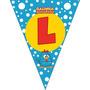 Bandeirolas Para Parede Varal De Letras Personalizadas