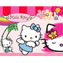 Kit De Festa Printable Hello Kitty + Convites Ref 001
