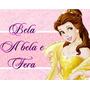 Kit De Festa Printable Princesas Bela Arte Ref 001