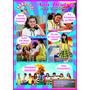 Convite De Aniversário Meninas Carrossel Em Quadrinhos