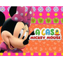 Kit Minnie Mouse Rosa + Desenha Convites + Ref 004