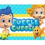 Kit Bubble Guppies + Desenha Convites + Cartões E Mais