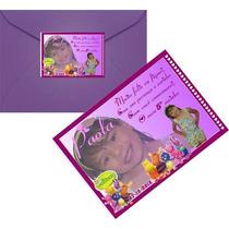 50 Convites + 50 Envelopes + 50 Etiquetas Personalizadas