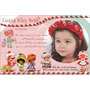 50 Convites Personalizados De Aniversário Infantil, Etc