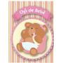 Convite Chá De Bebê Urso Menina - Com 40 Unidades