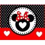 Kit Festa Provençal Minnie Mouse Cartões Convites Frete Grat