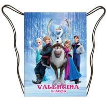 Lembrancinha Mochila Frozen Personalizada