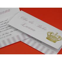 Convites Luxo Chá De Fraldas Ou Chá De Bebê , Aniversário