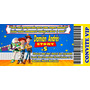 60 Convite Infantil Toy Story Personalizado Envio Imediato