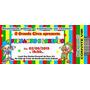 50 Convites Ingresso Circo Ou Patati Patatá Aniversário