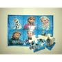 10 Quebra Cabeça Personalizado C/ Foto E Tema Frozen Peppa
