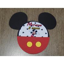 30 Convites Personalizados Festa De Aniversário Do Mickey