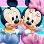 Kit Festa Provençal Minnie E Mickey Baby Cartões Frete Grati