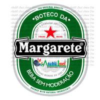 Arte Rótulo De Cerveja Personalizado Com Nome, Envio E-mail