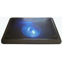 Suporte Base Notebook Acrílico Cooler Led Cabo Usb Netbook
