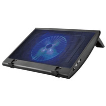 Cooler Notebook 15.4 Cooler C/ Led Azul Regulador De Altura