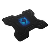 Base Suporte Cooler Neon Azul P/ Notebook Até 17 Polegadas