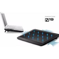 Base / Cooler Notebook N19 - Com Led - Design Fino