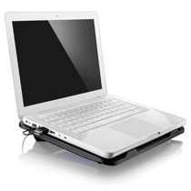 Suporte Notebook Com Cooler, Hub Usb E Led Multilaser Ac263