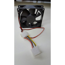 Cooler Fan 80mm Roxline Molex 4 Pinos