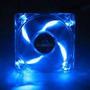 Cooler Fan Ventoinha 80x80mm (8x8cm) Com Led Azul