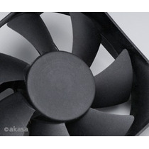 Cooler Fan 80mm Akasa Preto Dfs802512h 4 Pinos