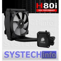 Cooler D´agua Corsair Hydro H80i High Performance - Original