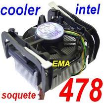 Cooler Original Intel Soquete 478 (pentium 4 E Celeron)
