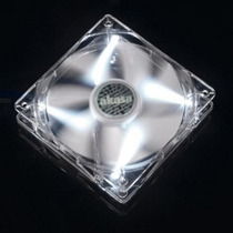 Cooler Fan 120mm Akasa Led Branco Ak-fn055