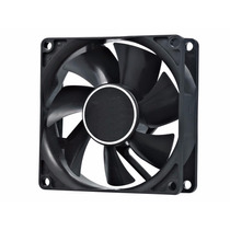 Kit 4 Cooler Gabinete Ventoinha Fan 80x80x25 Mm 80mm 8cm 12v