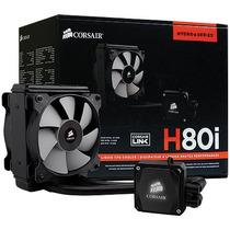 Water Cooler Performance Series H80i Hydro Corsair