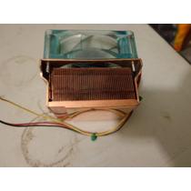 Dissipador Cooler Cpu Com Dissipador De Cobre