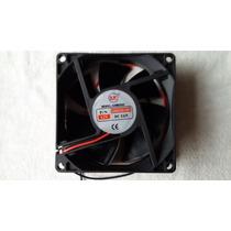 Fan Cooler Ventoinha Micro Ventilador 80x80x25mm 12v Nf