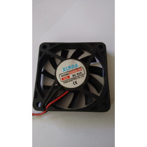 Pact.c/10peças Cooler 60x60x10 12v,fan,amd,intel,sonny,apple