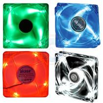 Cooler Fan Akasa - Iluminado / Baixo Ruido / 12 Cm