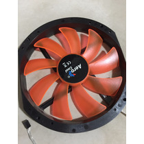 Cooler Fan Aerocool 200mm Led Laranja
