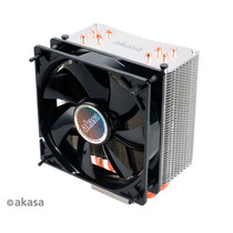 Cooler Akasa Nero 3 Ak-cc4007ep01 Amd Intel Lga Pwm 12cm