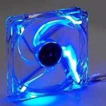 Cooler Fan De Gabinete 80mm 12v Com 4 Led