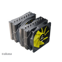 Cooler Akasa Venom Medusa Ak-cc4010hp01 Amd Intel Lga Sflow
