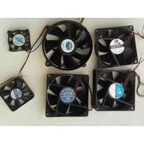 Ventoinha Para Pc , Fan ,cooler 6 Peças Usadas Funcionando