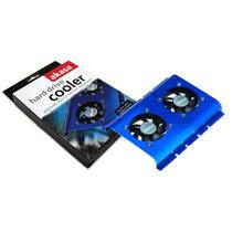 Cooler Duplo Para Hd 3.5 Akasa Azul