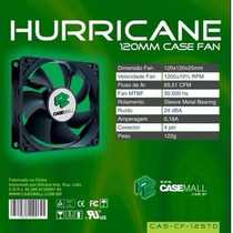 Cooler De 120mm Casemall Hurricane