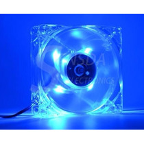 Cooler Hxs Ventilador Com Led Azul 80mm Para Pc Modulo